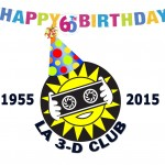 LA 3-D Club 60th Logo